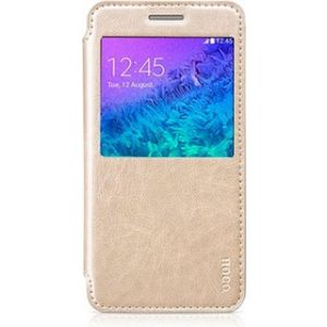 Hoco Galaxy A5 Crystal Classic Leather Case Golden