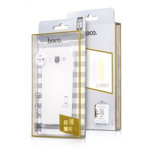 Hoco Galaxy A3 TPU Case Godlden