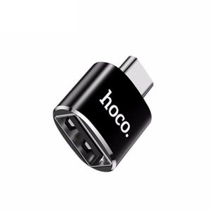 HOCO UA6 USB to Type-C Convertor - Black