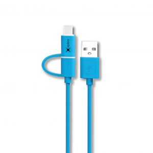 Xplore 2in1 USB Cable (Micro+TypeC) XP-C2