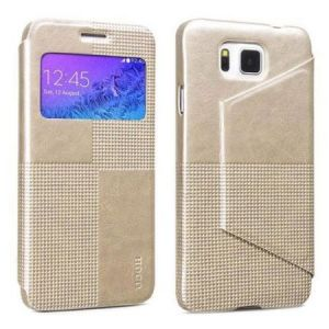 Hoco Galaxy Alpha Crystal Fashion LeatherCase