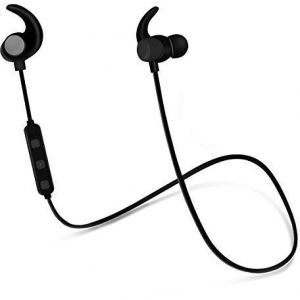Hoco Magnetic Sporting Wireless Earphone ES2 - Black