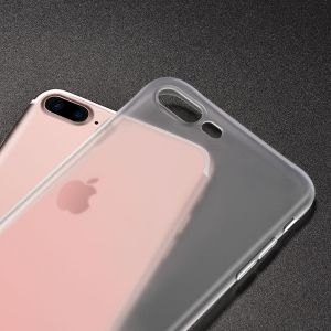 Hoco Light Series Frosted TPU Cover for Iphone 7 Plus - Transparent