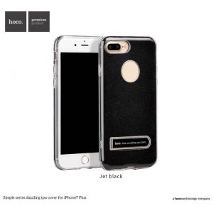 Hoco Simple series dazzling TPU cover for iPhone 7 Plus-Jet Black