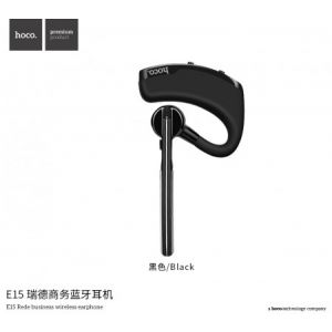 Hoco E15 Rede Business Wireless Earphone - Black