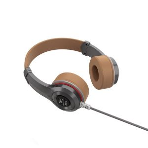 HOCO W6 Cool Hi Headphone - Blonde & Brown