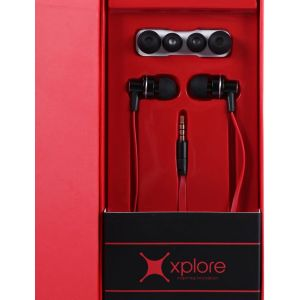 Xplore Earphone IP-808 - Black/Silver