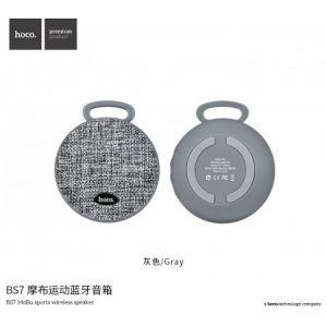 Hoco BS7 Mobu Sport Bluetooth Speaker - Gray