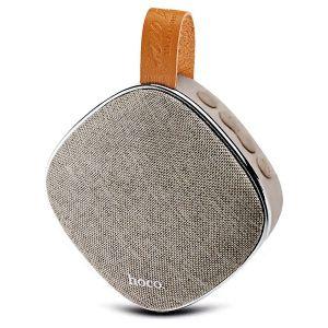 Hoco BS9 Light Textile Desktop Wireless Speaker - Blonde & Brown