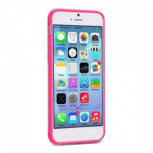 Hoco Double-Color Fashion Back Cover Case for iPhone6 Plus - Pink