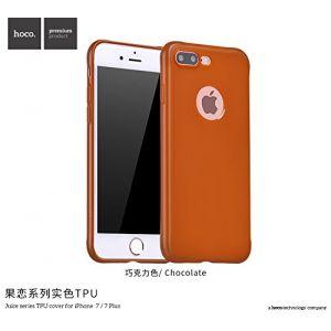 Hoco Juice Series TPU Cover for Iphone 7 Plus - Chocolate
